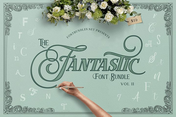 The Fantastic Font Bundle II
