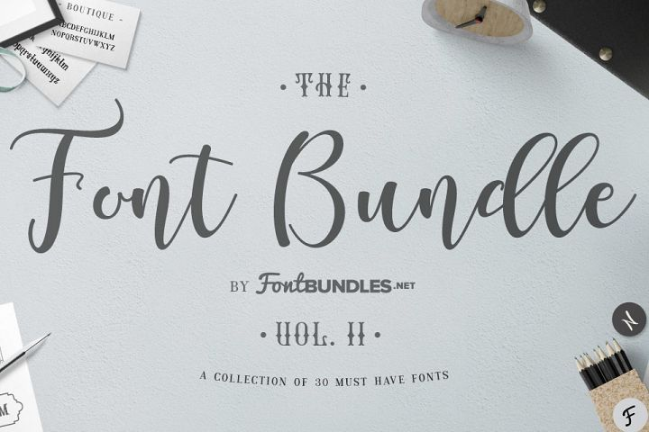 The Font Bundle Volume II