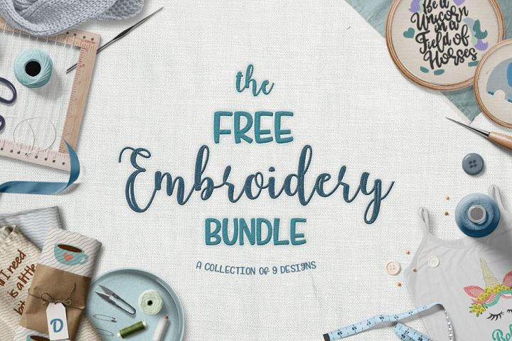 The Free Embroidery Bundle
