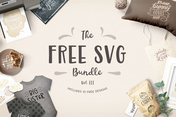 The Free SVG Bundle Volume III