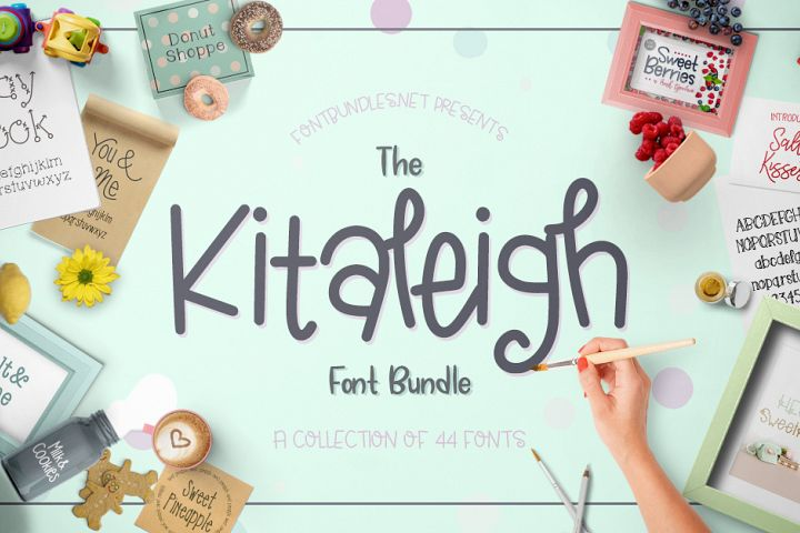 The Kitaleigh Font Bundle