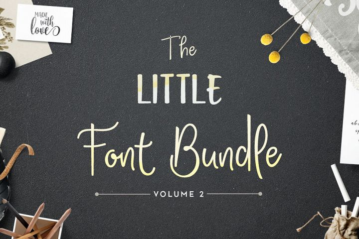 The Little Font Bundle Volume II