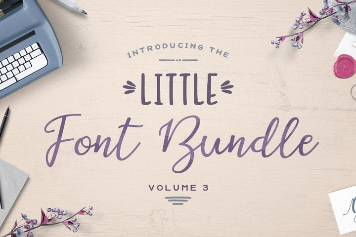 The Little Font Bundle Volume III