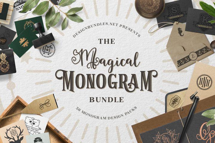 The Magical Monogram Bundle