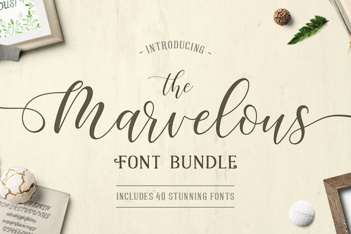 The Marvelous Font Bundle