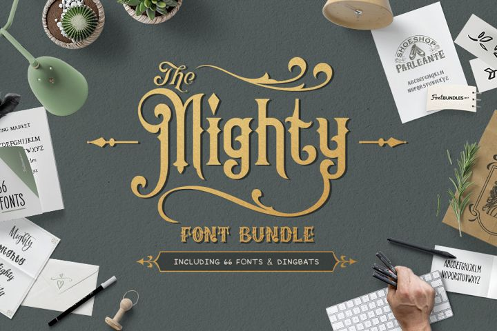 The Mighty Font Bundle