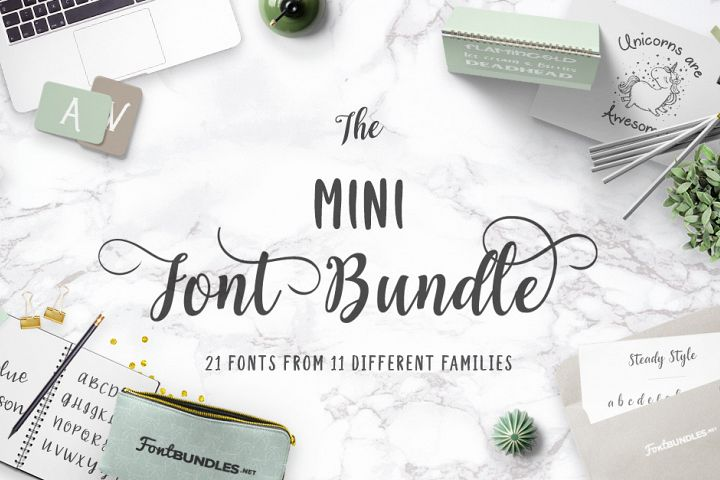 The Mini Font Bundle