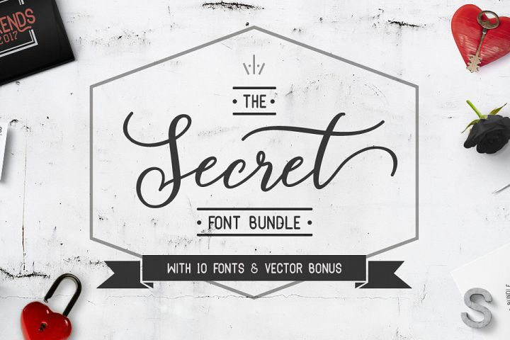 The Secret Font Bundle