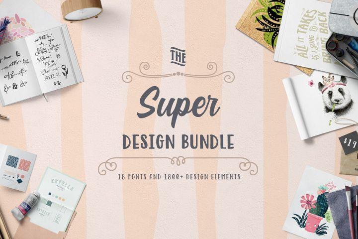 The Super Design Bundle