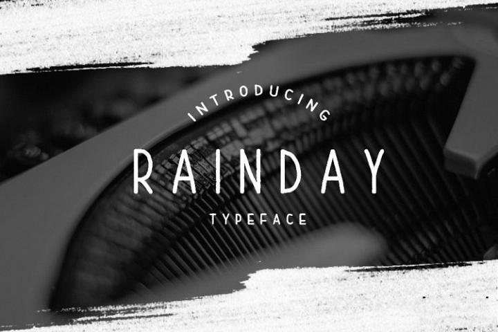 Rainday Typeface Font - Free Font of The Week