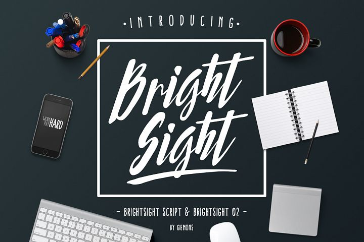 Bright Sight - 2 Fonts