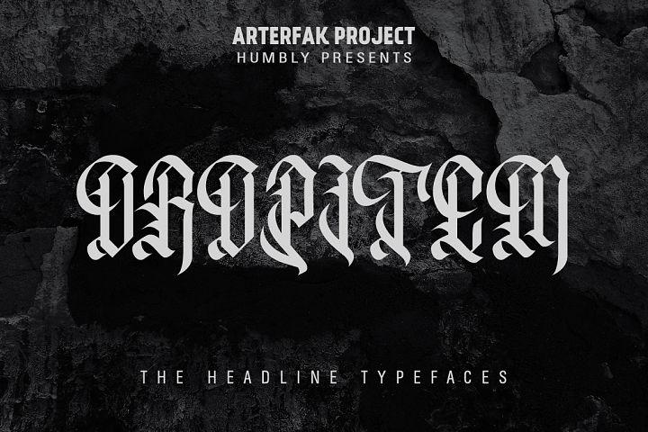 Oropitem Typeface