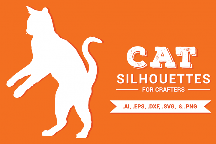 Cat Silhouettes for Crafters