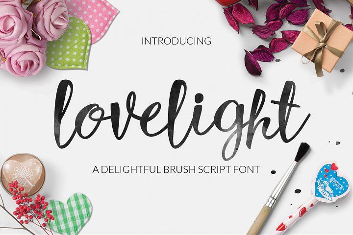 Lovelight Typeface