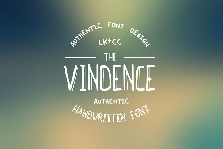 Vindence Handwritten Font
