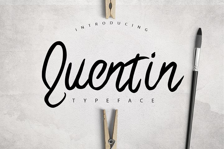Quentin Typeface Lite