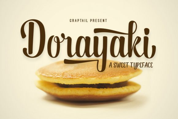 Dorayaki Script - Free Font of The Week