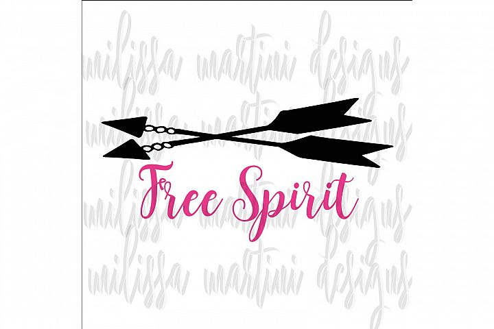 Free Spirit SVG Cut File example 3