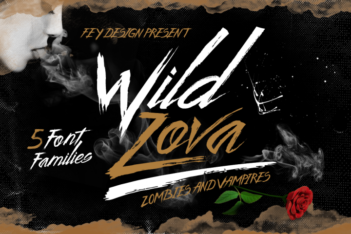 Wild Zova Family - Free Font of The Week