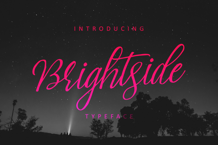 Brightside Typeface - Free Font of The Week
