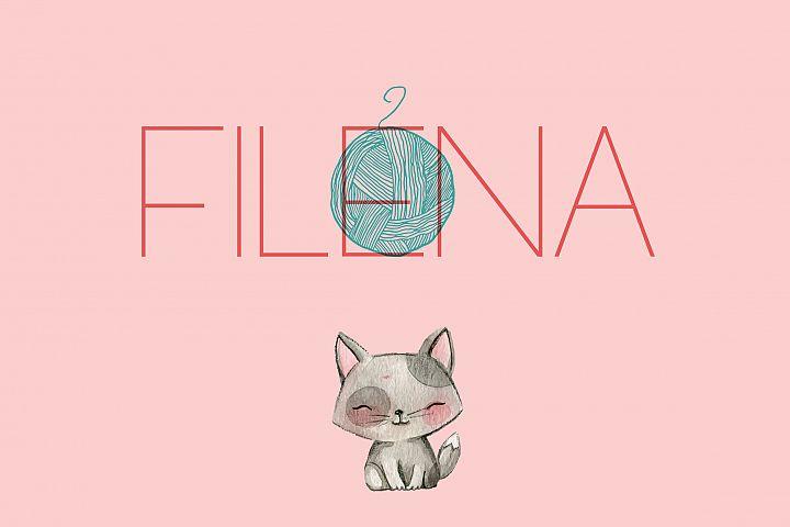 Filena - Sans Serif Font