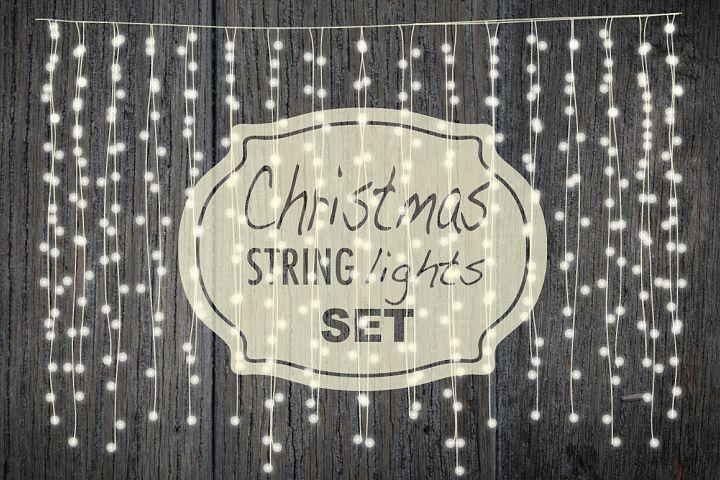 Christmas string lights set