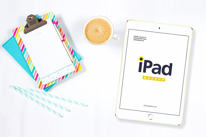 iPads Mockups Vol.2 example 3
