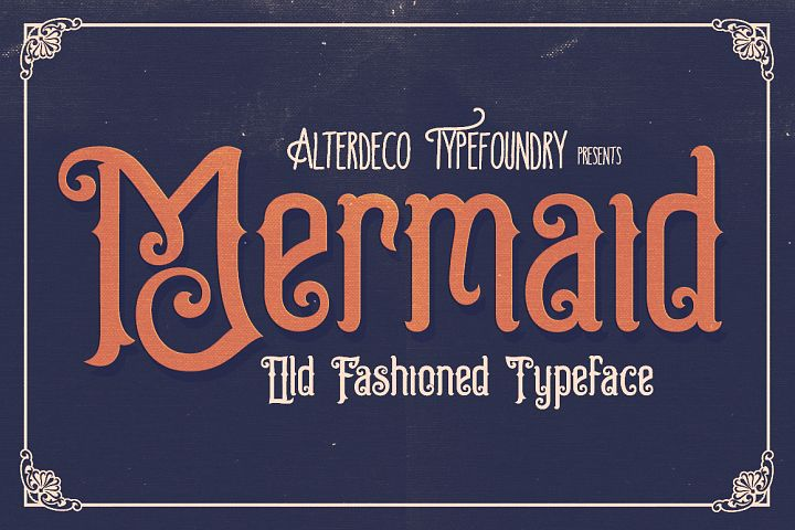 Mermaid Typeface - Free Font of The Week