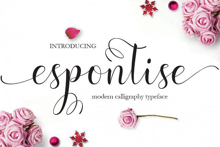 Espontise Script
