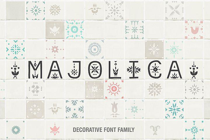 Majolica - Font Family