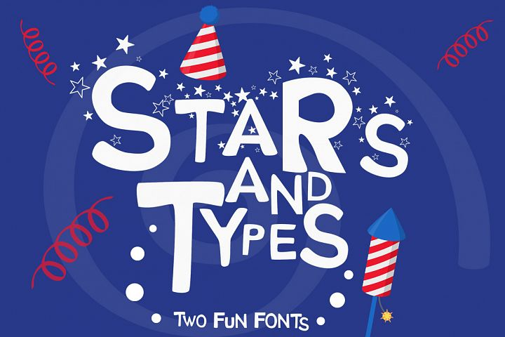 Stars and Types - 2 Fun Fonts