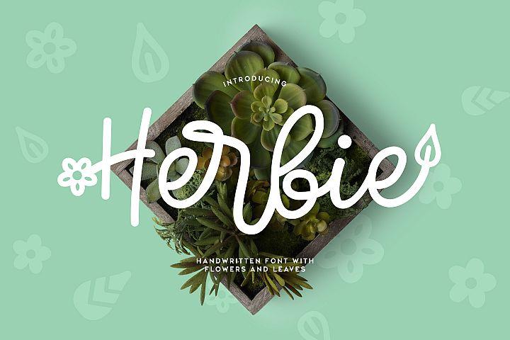Herbie - A Flowery Font