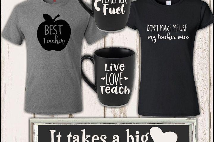 Best Teacher SVG Cutter Files