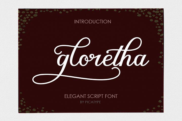 Gloretha Script