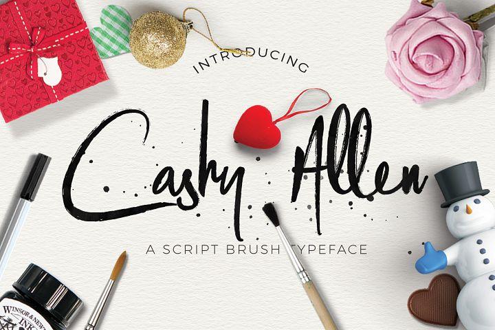 Cashy Allen Typeface