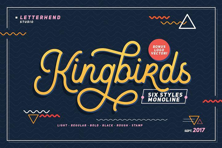 Kingbirds - 6 Styles Monoline