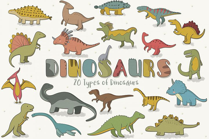 Dinosaurs  - Free Design of The Week