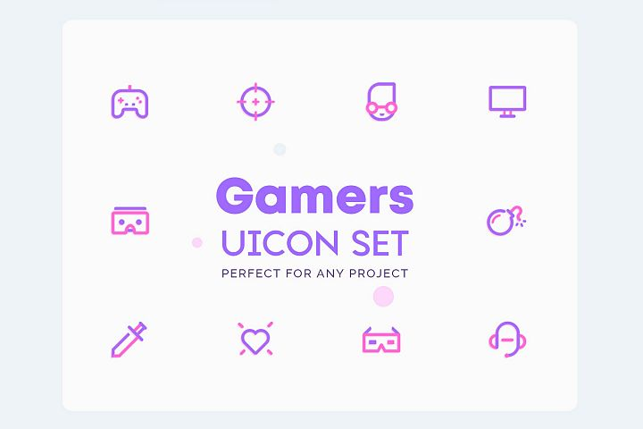 UICON - Gamers Icons Set