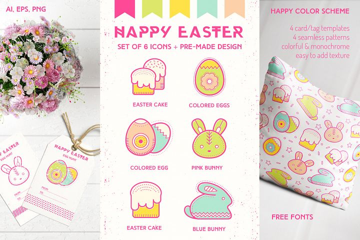 Happy Easter: Design Collection