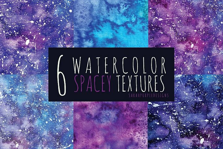 Hand Painted Watercolor Texture