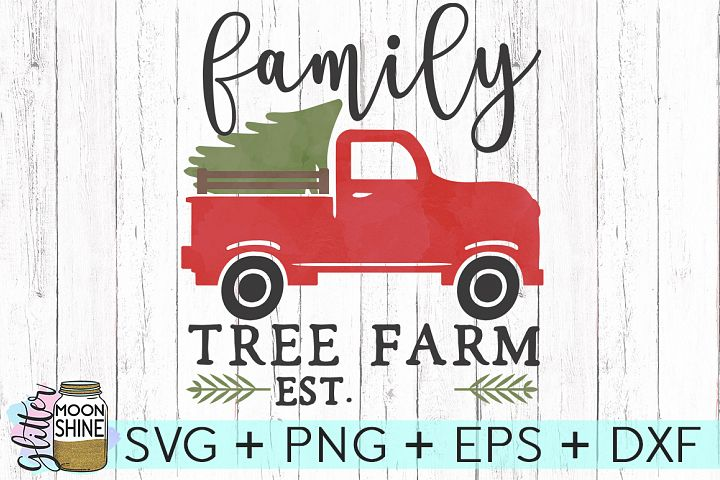 Family Tree Farm Sign SVG DXF PNG EPS Cutting Files