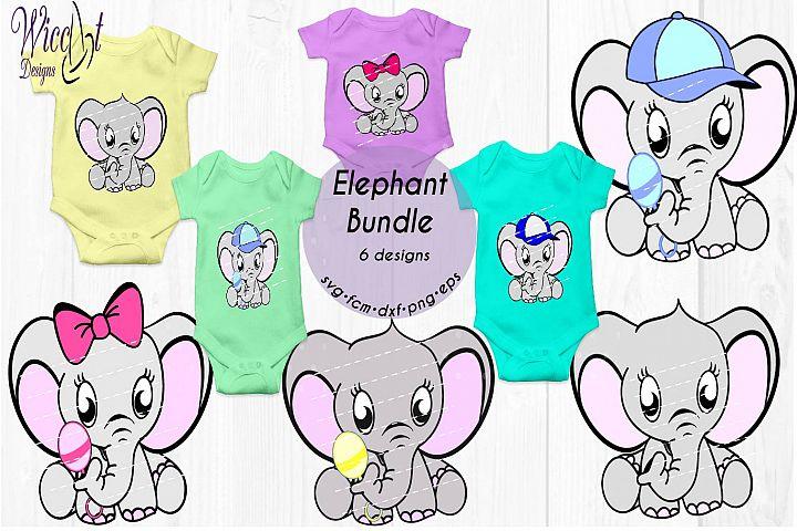 Elephant bundle, Baby elephant, Neutral , boy, girl