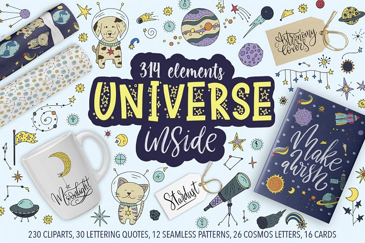 Universe inside. Big Graphic Collection.