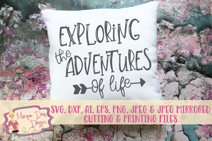 Exploring the Adventures SVG, DXF, AI, EPS, PNG, JPEP