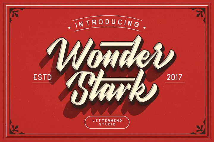 Wonder Stark Font