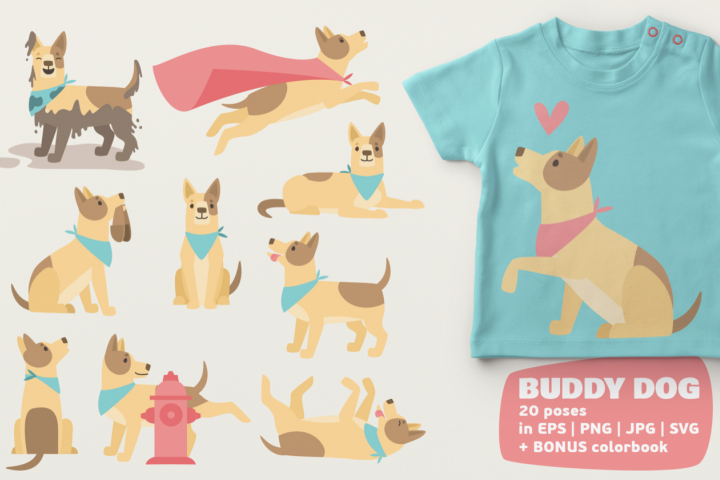 Dog Bundle - Free Design of The Week