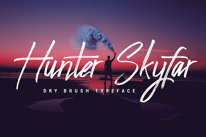 Hunter Skyfar - Dry Brush Script