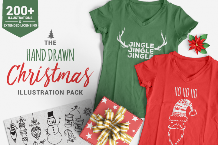 The Christmas Illustration Pack