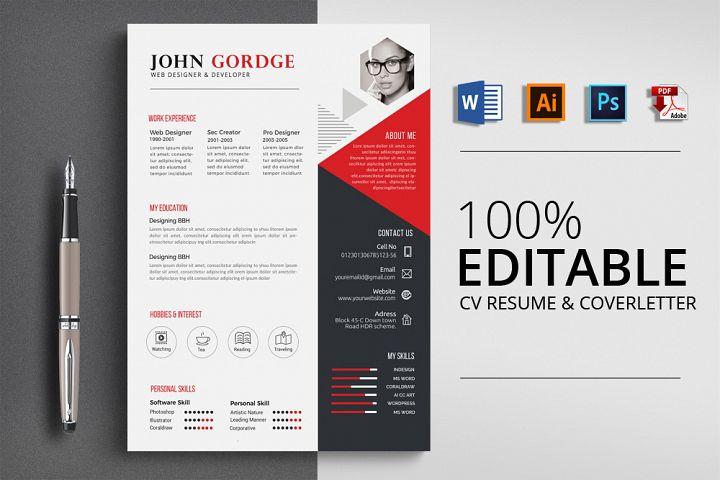 Resume Cv Office Word