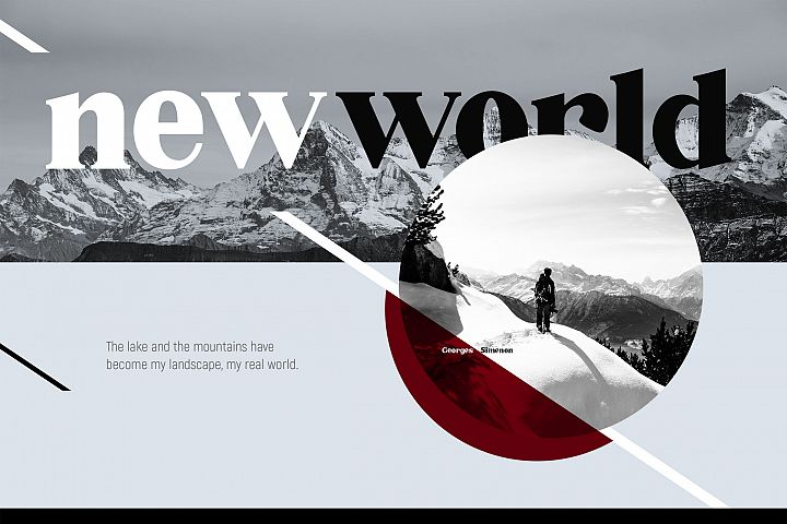 Millenia - Serif Font - Free Font of The Week Design 2